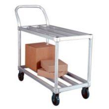 New Age 95661 Aluminum Tubular 700 lb Capacity Stock Cart with Casters