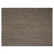 "FOH XPM053COV83 Copper 16"" Large Basketweave Placemat - 12 / CS"