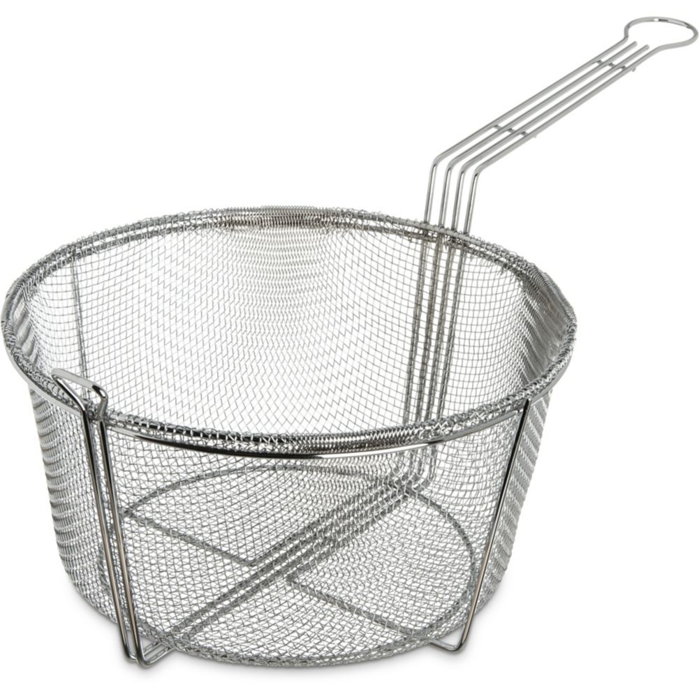 Carlisle 601002 11 1 2 Round Basket Fryer Basket Wasserstrom