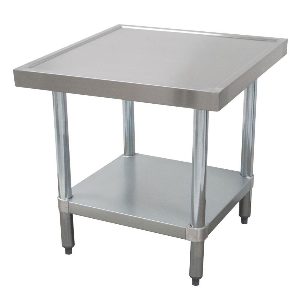 "Advance Tabco AG-MT-242 S/S 24 x 24"" Mixer Table With Undershelf"