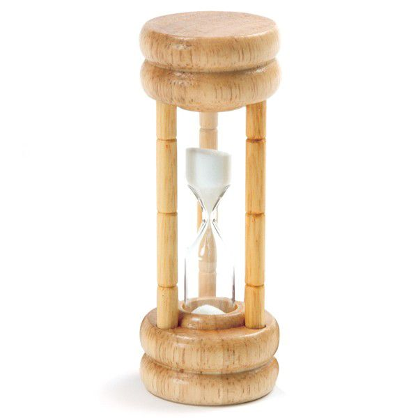 Norpro 1473 Three Minute Wood Egg Timer