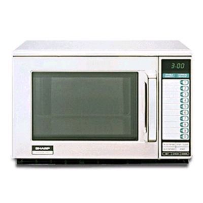 Sharp R-22GT Heavy-Duty 1200W Commercial Microwave