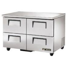 True® TUC-48F-D-4 S/S 2-Drawer 12 Cu Ft Undercounter Freezer
