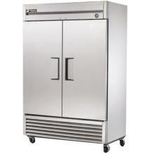 True T-49 LEFT HINGE T-Series 2-Door 6-Shelf Reach-In Refrigerator