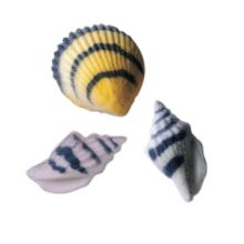 Lucks™ 28733 Dec-Ons® Seashells - 96 / BX