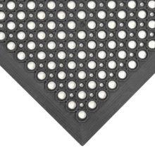 Notrax 755-100 Black Beveled Edge 3' x 5' Competitor® Floor Mat