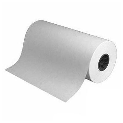 "Danco BP18 Unwaxed White 18"" x 1000 Ft Butcher Paper Roll"