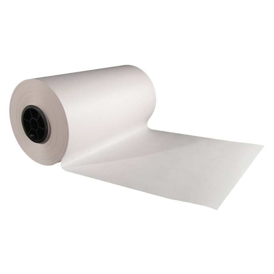 "Danco IP30T 30"" x 1000' White Butcher Paper Roll Roll"