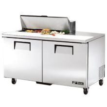 True TSSU-60-10 2-Door 10-Pan S/S Sandwich / Salad Prep Table