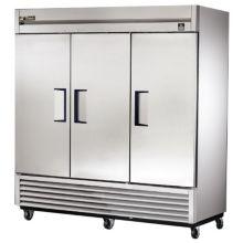 True® TS-72 3-Solid Full Door 72 Cu Ft Reach-In Refrigerator
