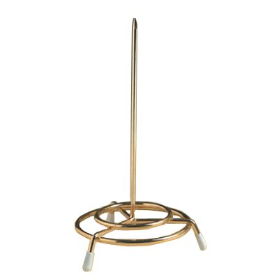 "American Metalcraft GCS37 Brass Plated 6""H Check Spindle"