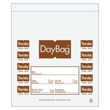 "DayMark 113016 5-1/2"" Day of the Week Thursday Portion Bag - 2000 / BX"