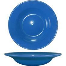 International Tableware CA-3-LB Light Blue 12 Oz Soup Bowl - 24 / CS