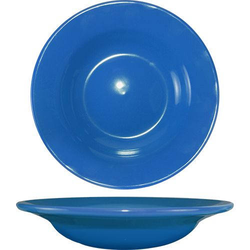 International Tableware CA-3-LB Light Blue 12 Oz Soup Bowl - 24 / CS