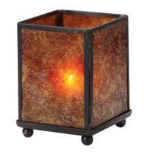 "Hollowick® 1200A Mica Mini Panel 3.88"" Table Lamp"