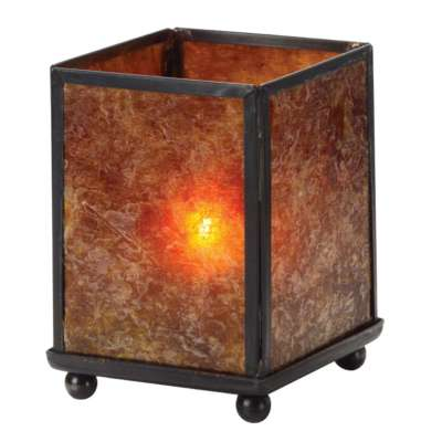 Hollowick 1200A Mica Mini Panel 3.88 Table Lamp