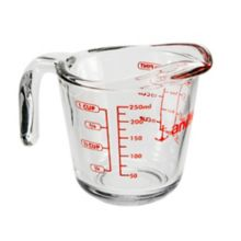 Anchor Hocking® 55175OL13 Glass 8 oz Measuring Cup
