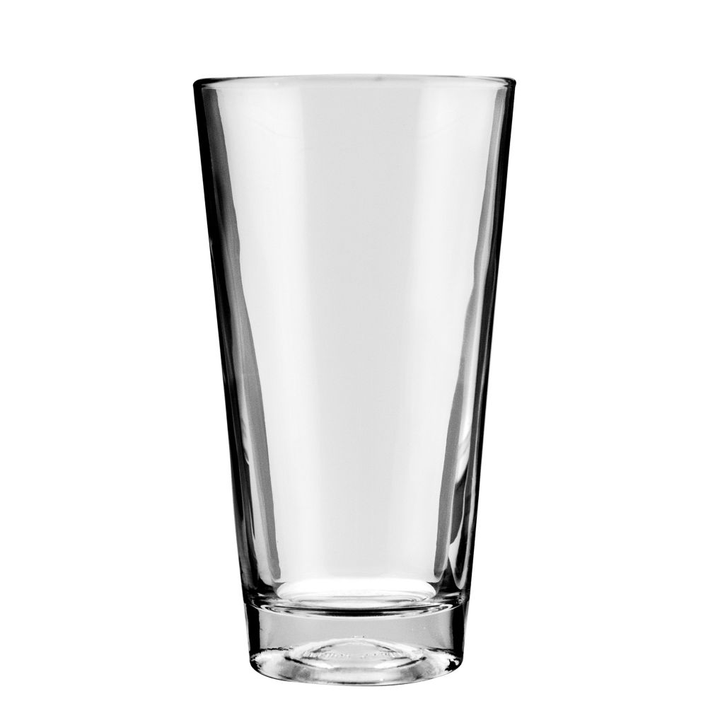 Anchor Hocking® 77420 Rim Tempered 20 oz Mixing Glass - 24 / CS