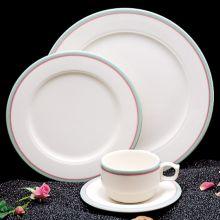 Homer Laughlin 4541640 Simplicity Rose 9 Oz Shakespeare Mug - 36 / CS