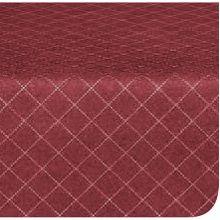 Marko 58231554L046 Designer Series Burgundy Diamond Head Tablecloth