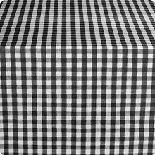 "Marko 51531554L014 Classic Series Black Checked 54"" x 15 YD Tablecloth"