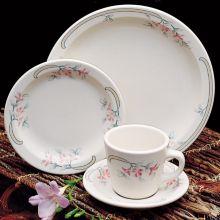 "Homer Laughlin 2151347 Pink Sage NR 8.75"" Plate - 24 / CS"