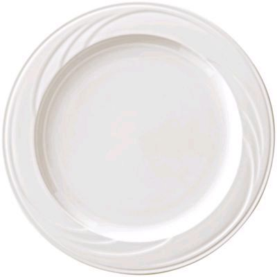 "Syracuse China 950038261 Cascade™ 6.25"" Plate - 36 / CS"