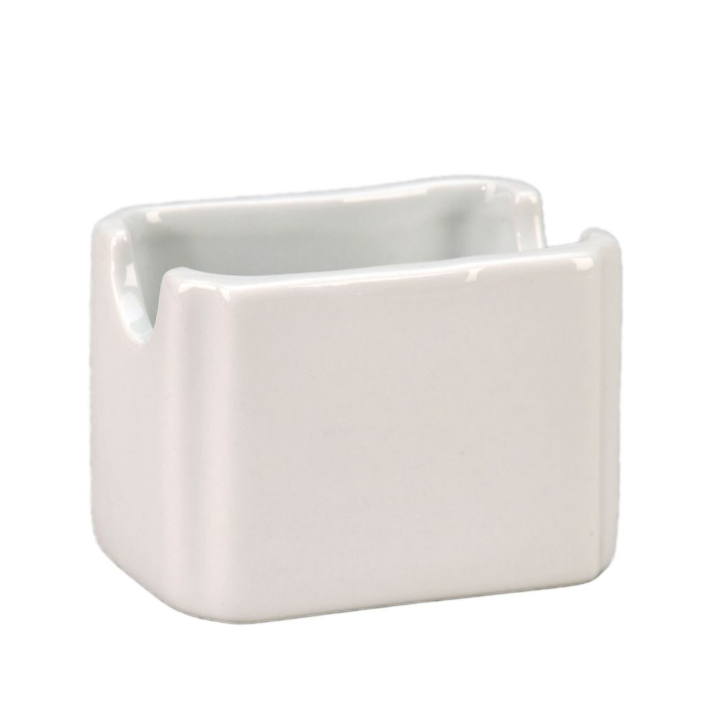 Vertex® China SPH-P Argyle White Sugar Packet Holder - 48 / CS