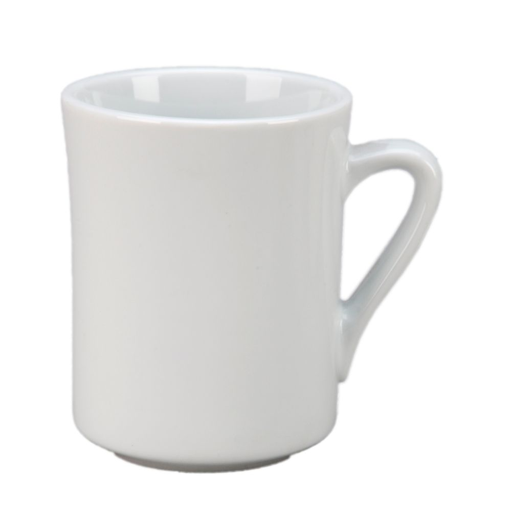 Vertex® China VNT-P Argyle 9 Oz. White Ventura Mug - 36 / CS
