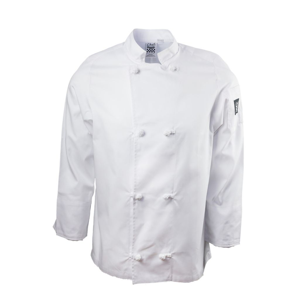 Chef Revival® J050-XL Unisex White XL Chef Coat