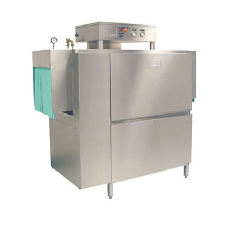"Meiko K-54ST 54"" Single Tank Steam Rack Conveyor Dishwasher"