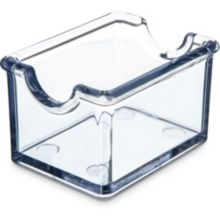 Carlisle® 455007 Clear Sugar Packet Sugar Caddy