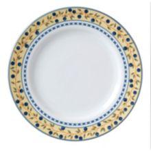 "Vertex® China AL-16-BB Alpine Blueberry 10.5"" Plate - 12 / CS"