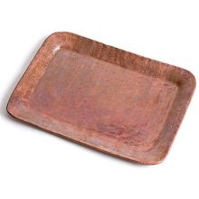 "Orion Trading C34-R Copper 8"" x 6"" Tip Tray"