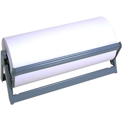"Bulman Products A500-36 36"" Horizontal Paper Dispenser / Cutter"