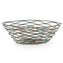"FOH TBB019PTI22 Patina Wireware 11"" Crescent Basket - 6 / CS"