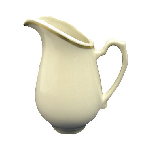 Homer Laughlin 357702 Seville Durathin 5.5 Oz Creamer - 24 / CS