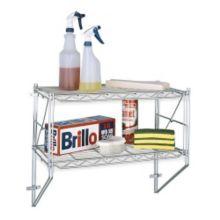 "Metro 12WS12C Erecta Shelf Wall Kit w/ (2) 12 x 24"" Shelves - Kit"