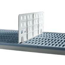 "Metro® MQD24-8 MetroMax® Q ® 24""quot; x 8"" Shelf Divider"