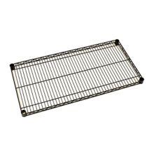 "Metro® 1424NBL Super Erecta® 14 x 24"" Black Wire Shelf"