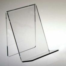"""Clear Solutions 8110 Acrylic 6"""" Book Easel"""
