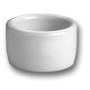 Hall China 9150ABWA Bright White 2 oz Ramekin / Cheese Pipkin- 36 / CS