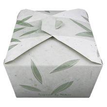 Fold-Pak 04BPNATURM Bio-Pak® Nature 96 Oz / # 4 Container - 160 / CS