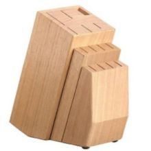 Tramontina 80020/107 Diamant Style 14 Slot Rubberwood Knife Block