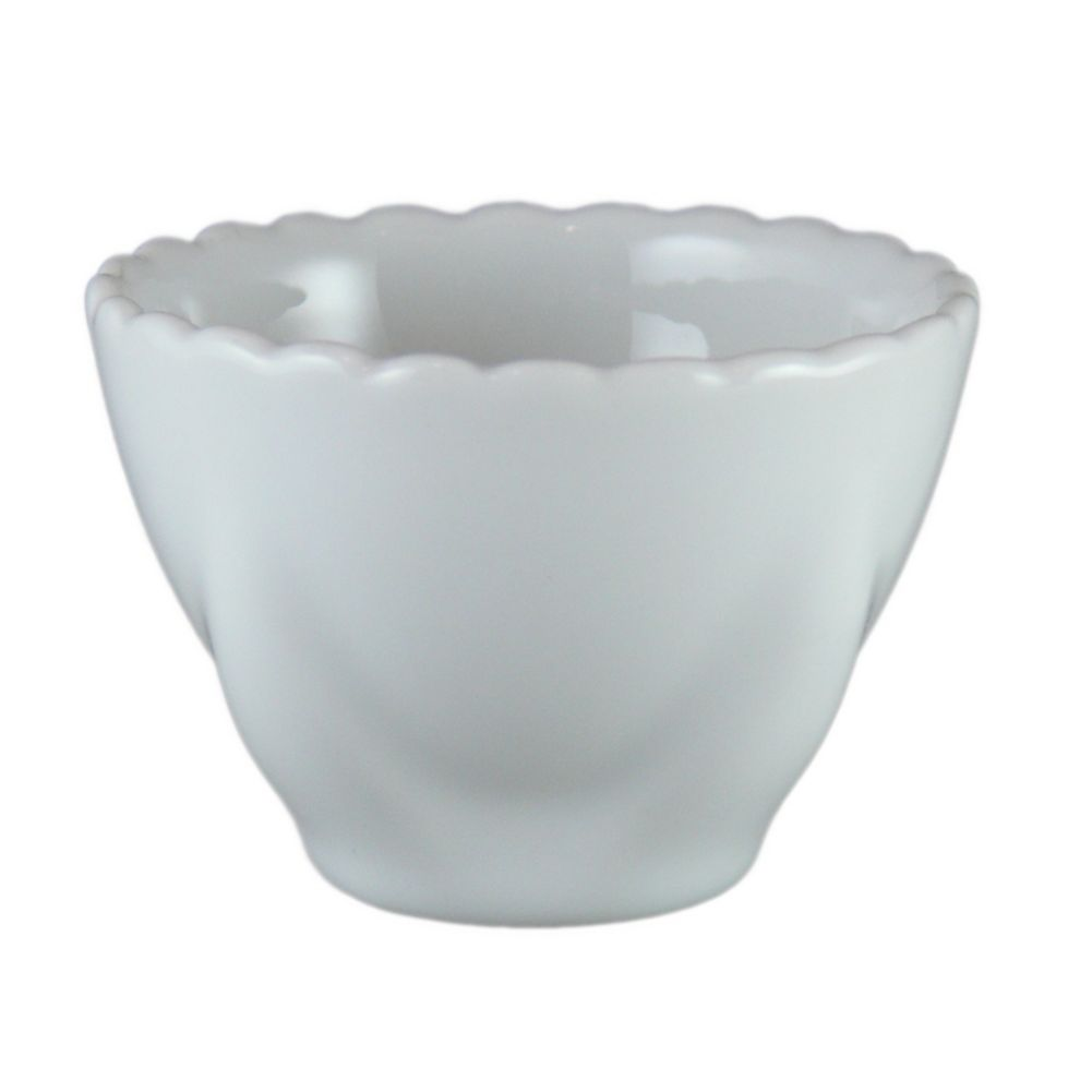 Vertex® China AV-LC Ventana 3 Oz. White Lotus Cup - 48 / CS