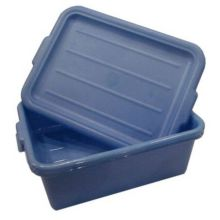 Traex 1505-C04 Blue Food Storage Box with Drain Box Insert