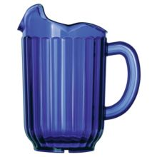 Traex 6010-44 Cobalt Blue 60 Ounce 3-Lip Tuffex Deluxe Pitcher