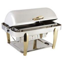 Bon Chef 10040 Manhattan Stainless Steel Non-Dripless 2 Gallon Chafer