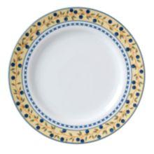 "Vertex® China AL-21-BB Alpine Blueberry 12-1/4"" Plate - 12 / CS"