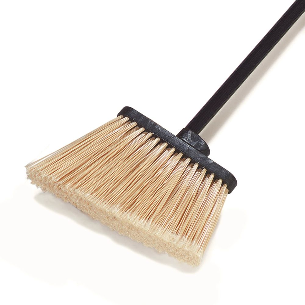 "Carlisle® 3686700 Duo-Sweep 8"" Medium Duty Angle Broom Head"